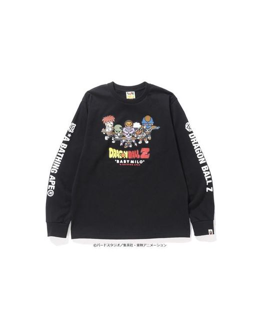 15d11faa A Bathing Ape X Dragon Ball Zl/s Tee 2 Black in Black for Men - Lyst