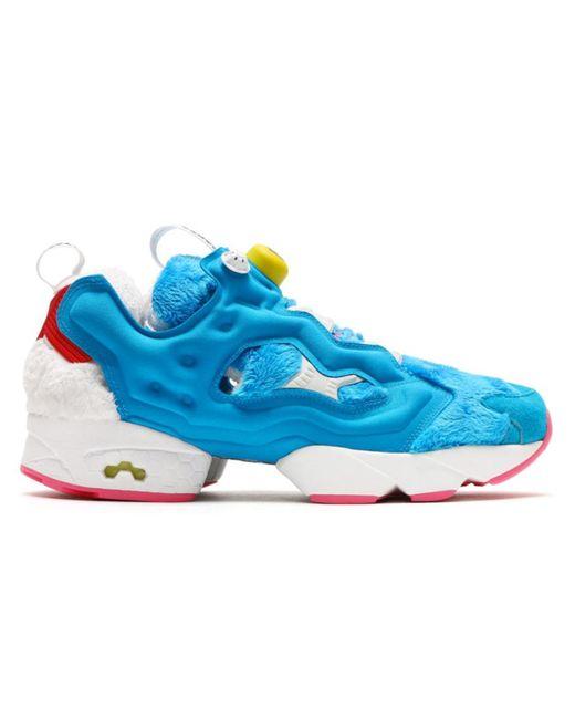 fdc2427f1 Reebok - Blue Instapump Fury Packer Shoes X Atmos Doraemon for Men - Lyst