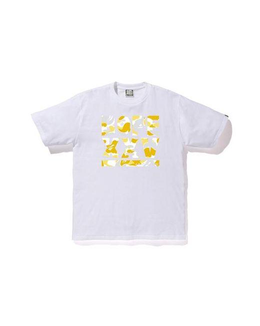 d601a4fdd Lyst - A Bathing Ape Store Matsuyama Xxv Tee White in White for Men