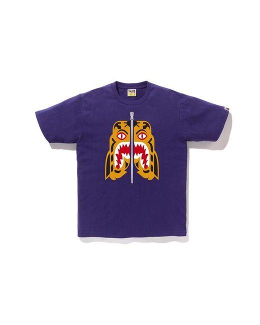 2c212b98 A Bathing Ape Tiger Tee (fw18) Purple in Purple for Men - Lyst
