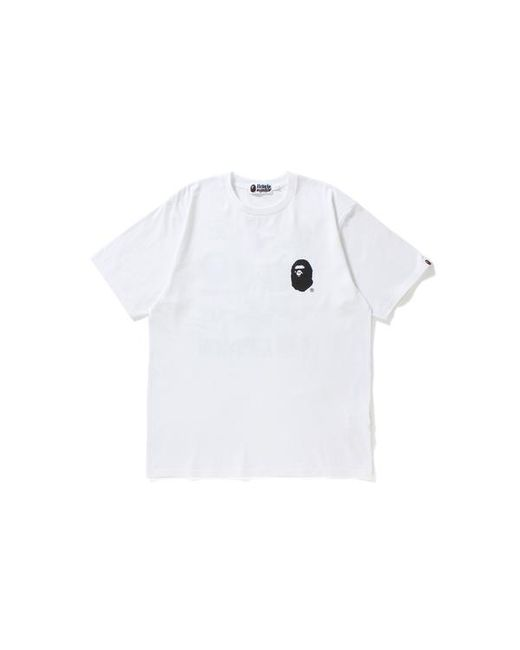 b250acf6 Browse stores. A Bathing Ape - Multi Logo Tee White for Men - Lyst