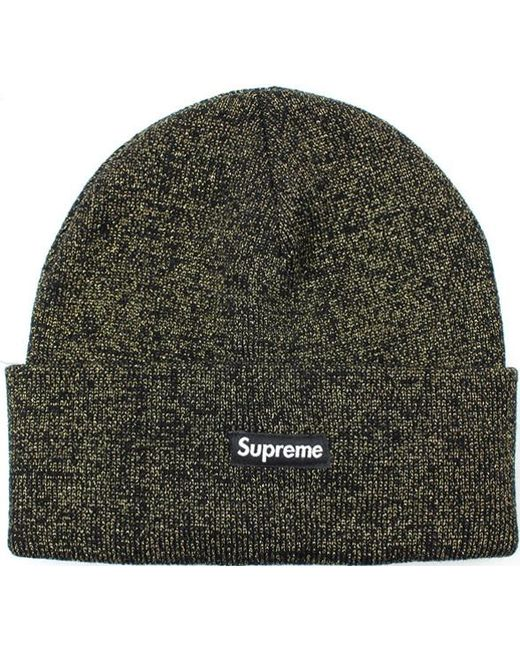 abf53df845b Lyst - Supreme Tinsel Beanie Black in Black for Men - Save 27%