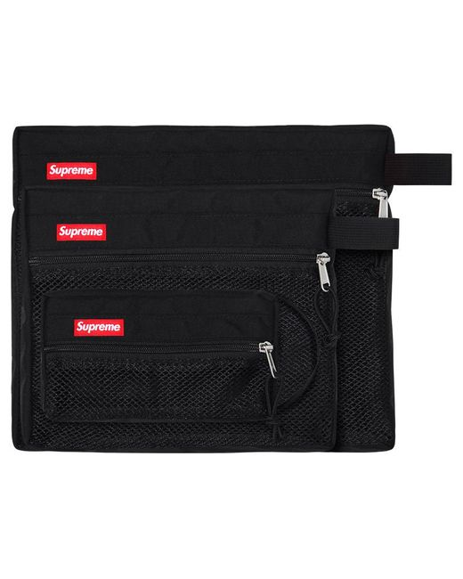 a153f5cbed17 Lyst - Supreme Mesh Organizer Bags (ss15) Black in Black for Men
