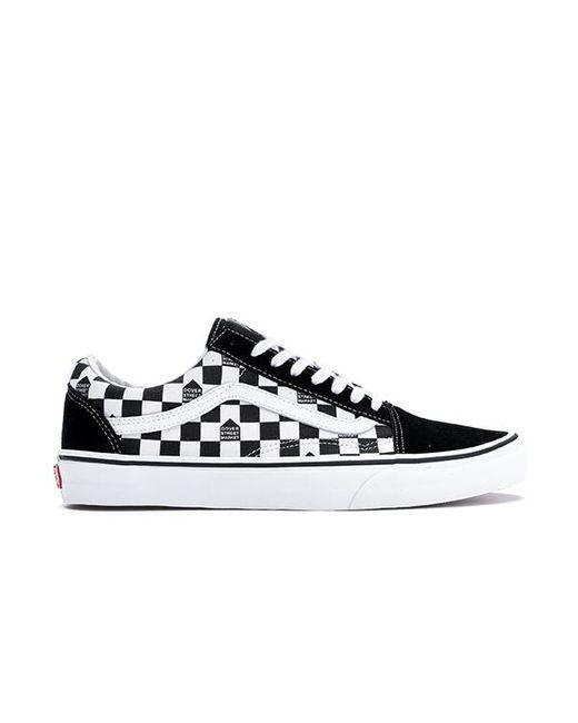 afa79fd4e3d0db Lyst - Vans Old Skool Dsm Checkerboard Black White in Black for Men
