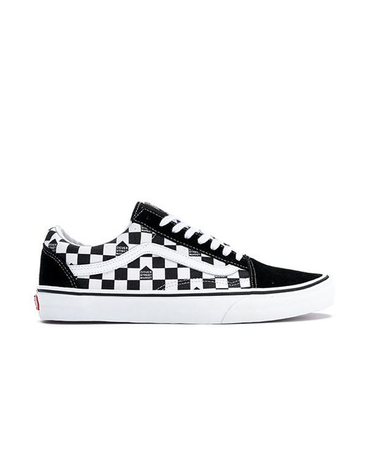 f7f37c218922f1 Lyst - Vans Old Skool Dsm Checkerboard Black White in Black for Men