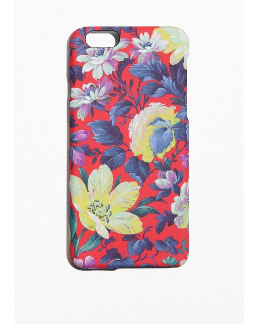 & Other Stories | Multicolor Floral Iphone 6 Case | Lyst