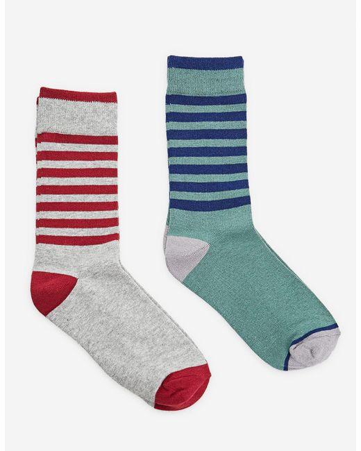 Stradivarius   Multicolor 2-pack Of Long Socks for Men   Lyst
