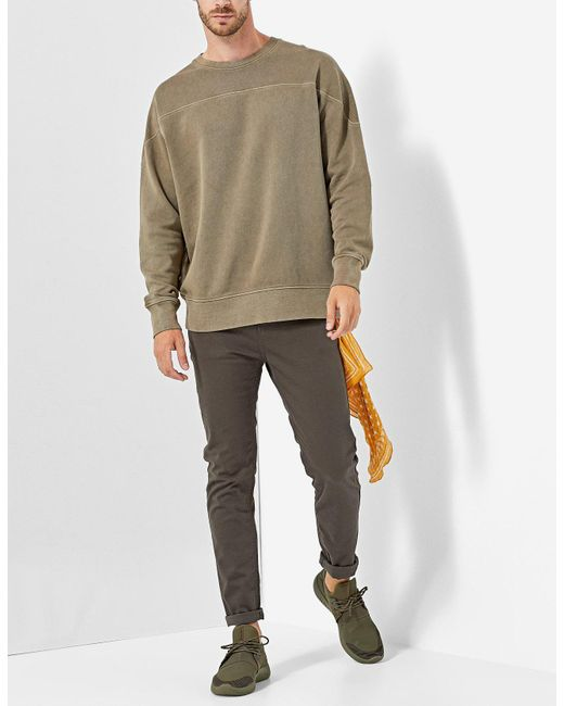 Stradivarius | Natural Dyed Sweatshirt for Men | Lyst