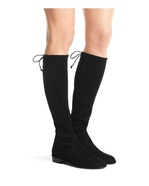 stuart weitzman kneezie stretch suede the knee boots