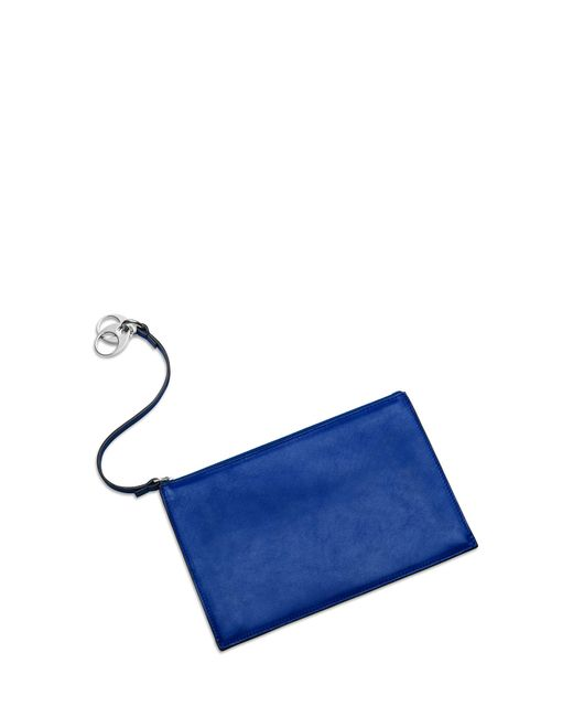 Stuart Weitzman - Blue The Link Double Zip Pouch - Lyst