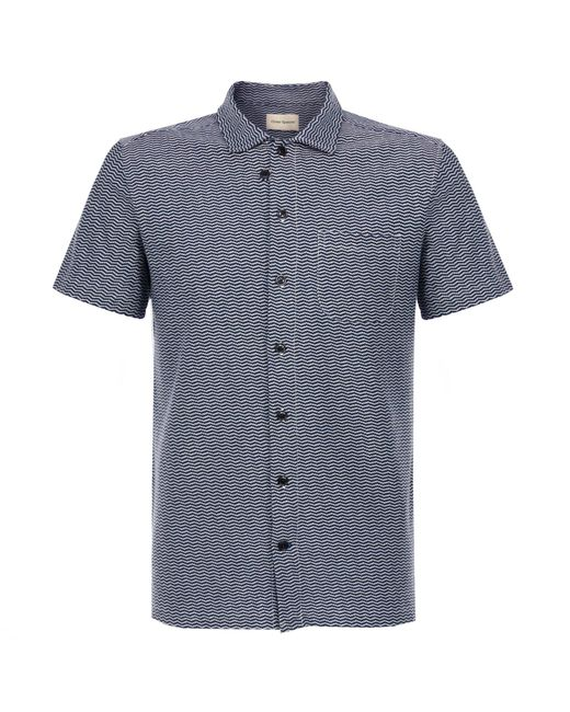 Oliver Spencer - Blue Hawaiian Henderson Navy Shirt for Men - Lyst
