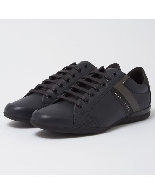 BOSS ATHLEISURE SPACE LOWP LUX - Trainers - black W7L2bKoPyP