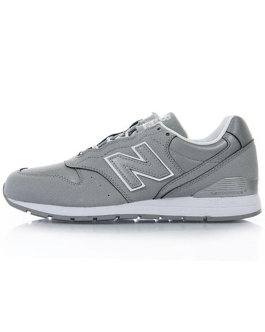 new balance 996c reflective silver shoe in metallic for men lyst. Black Bedroom Furniture Sets. Home Design Ideas