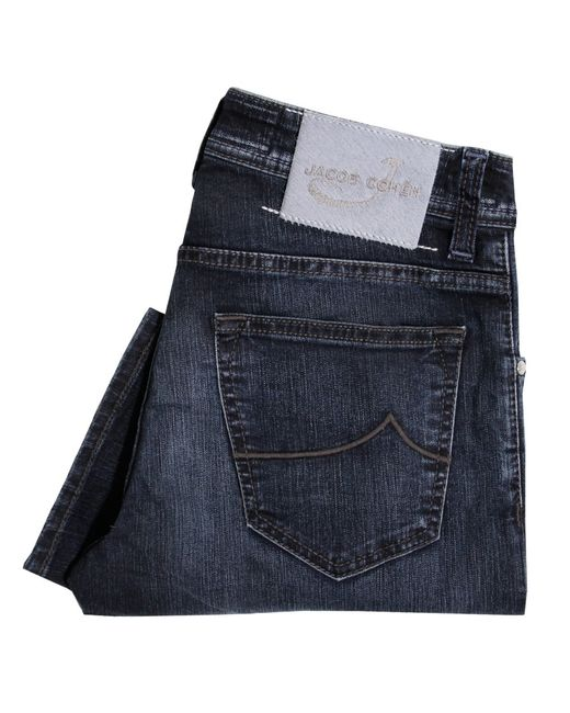 Jacob Cohen | Pw622 Mid Blue Denim Jeans for Men | Lyst