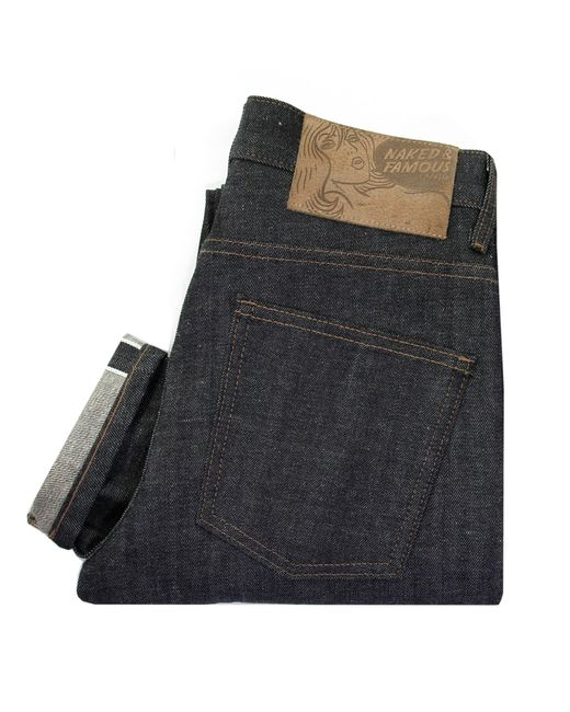 Naked & Famous | Blue Skinny Guy Jeans in Left Hand Twill for Men | Lyst