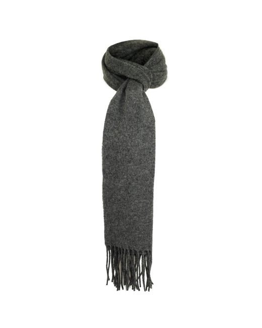 Dents | Gray Grey Lambswool Scarf | Lyst