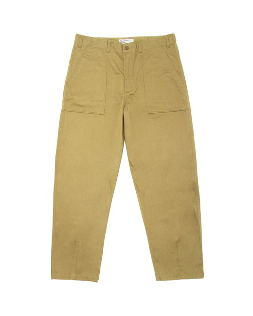 Universal Works - Natural Sand Fatigue Chinos - Lyst