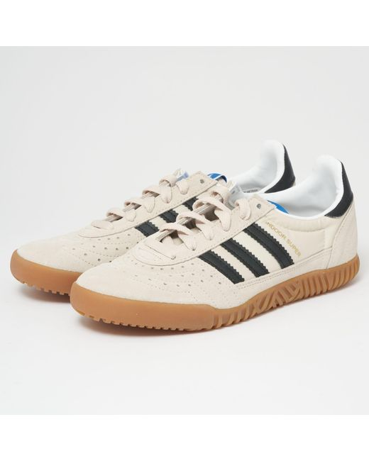Lyst Adidas Sort Originals Adidas Indoor Super Clear Brun Core Sort Adidas 249d17