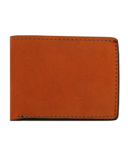 Tanner Goods - Brown Utility Bifold Chicago Leather Wallet for Men - Lyst