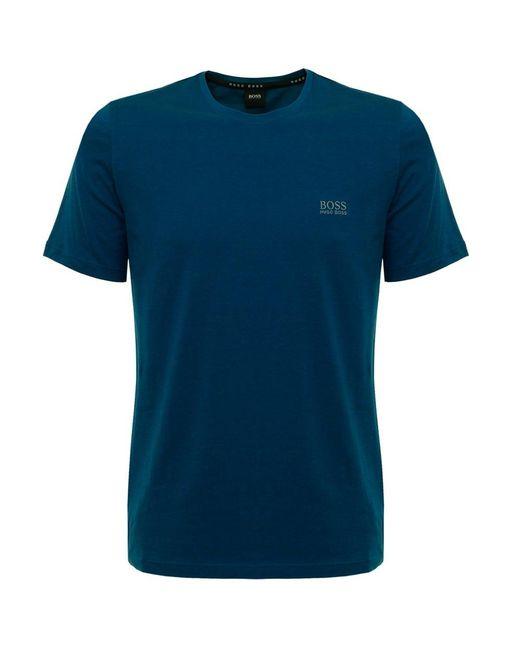BOSS | Blue Hugo Boss Turquoise Rn T-shirt for Men | Lyst