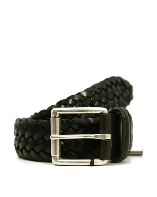 Andersons | Andersons Braided Brown Leather Belt A1097 Af2984 Pl178 for Men | Lyst