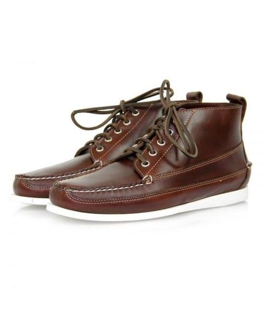 G.H.BASS - Brown Camp Moc Ranger Boots for Men - Lyst