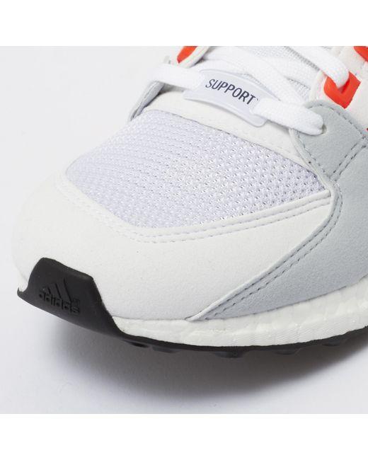 promo code 1828c c16c2 ... Adidas Originals - Eqt Support Ultra - Running White  Bold Orange for  Men ...