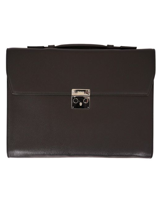 d4453a3607c342 Lyst - Boss Signature Collection Briefcase - Black in Black for Men
