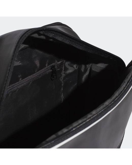 03ac749f1e ... Adidas Originals - Vintage Airliner Bag - Black for Men - Lyst ...