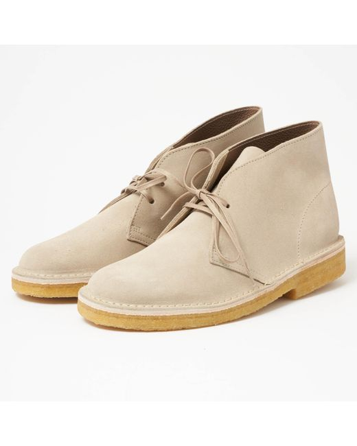 Clarks - Multicolor Desert Boot- Sand for Men - Lyst