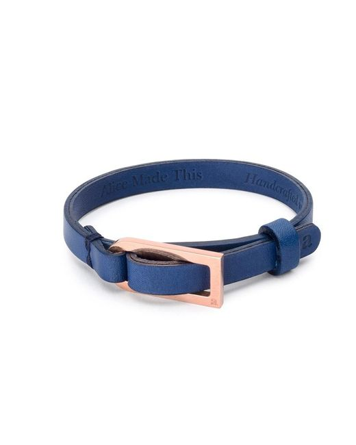 Alice Made This   Blue Ernest Bracelet for Men   Lyst