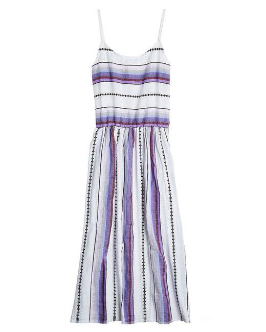 Lemlem - Blue Cotton Maxi Dress - Lyst