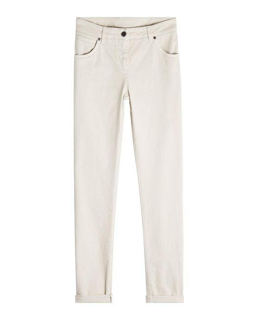 Brunello Cucinelli - Multicolor Basic 5 Pocket Skinny Jeans - Lyst