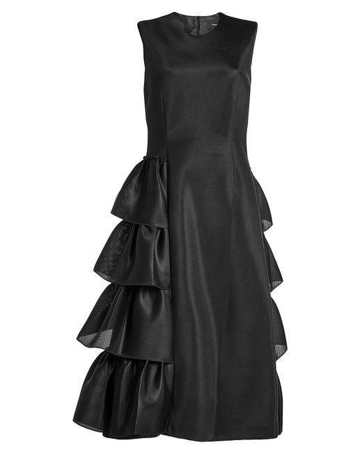 Simone Rocha | Black Asymmetric Dress | Lyst
