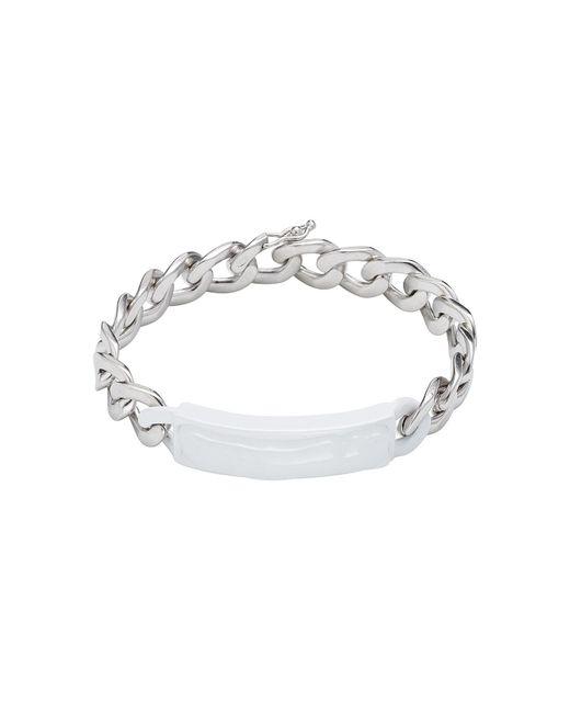 Maison Margiela | Metallic Silver Chain Bracelet for Men | Lyst