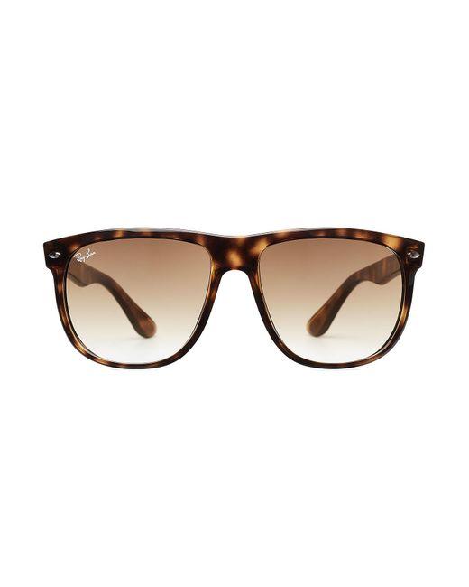 Ray-Ban   White Tortoise Shell Oversized Sunglasses   Lyst