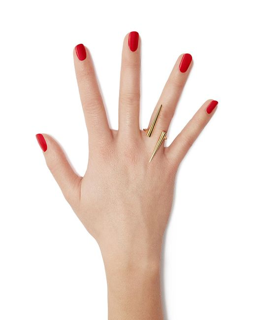 Jennifer Fisher | Metallic 14kt Yellow Gold Plated Ring | Lyst