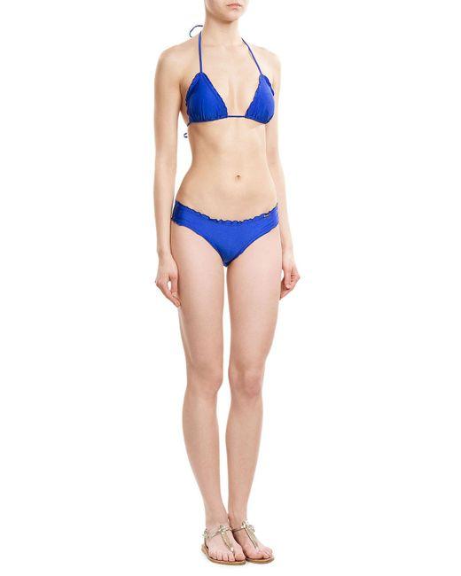Luli Fama | Black Cosita Buena Wavey Bikini Bottoms | Lyst