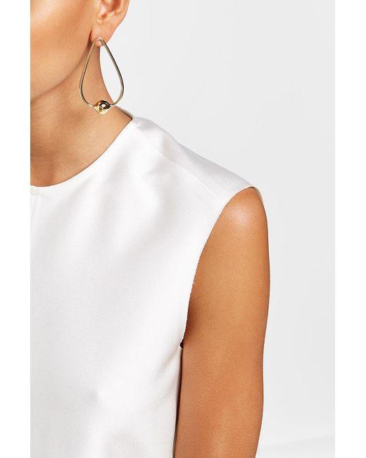 Jennifer Fisher   Metallic Gold-plated Earrings   Lyst