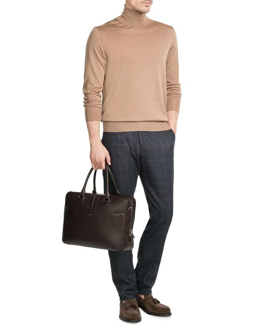 Tod's | Natural Leather Briefcase | Lyst