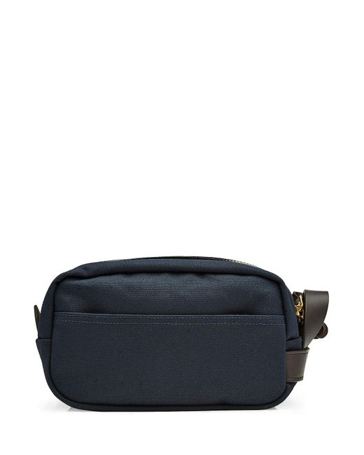Filson | Brown Cotton Twill Toiletries Case With Leather | Lyst