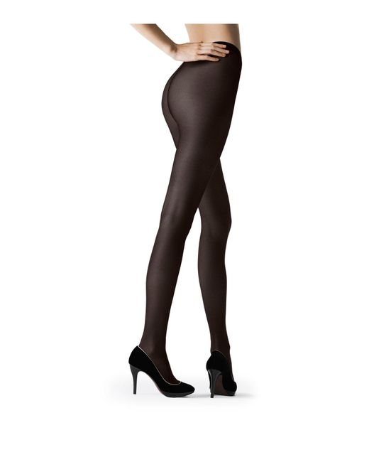 Fogal | Black Tights With Silk | Lyst