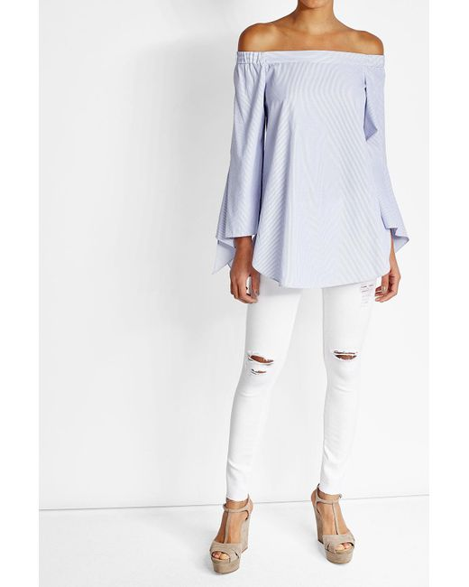 AG Jeans | White Skinny Jeans | Lyst