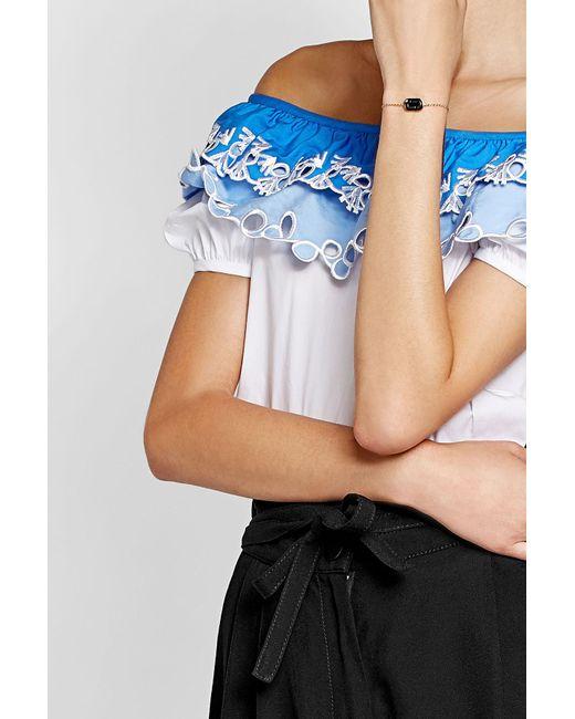 Marc Jacobs | Blue Icon Chain Bracelet | Lyst