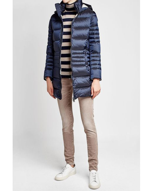 Colmar | Blue Quilted Down Jacket With Hood | Lyst