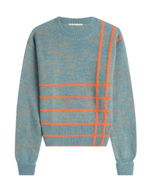 Marco De Vincenzo - Blue Knit Pullover With Wool, Angora And Mohair - Lyst