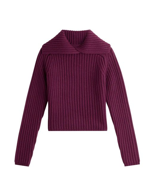 Carven - Multicolor Wool Pullover - Lyst