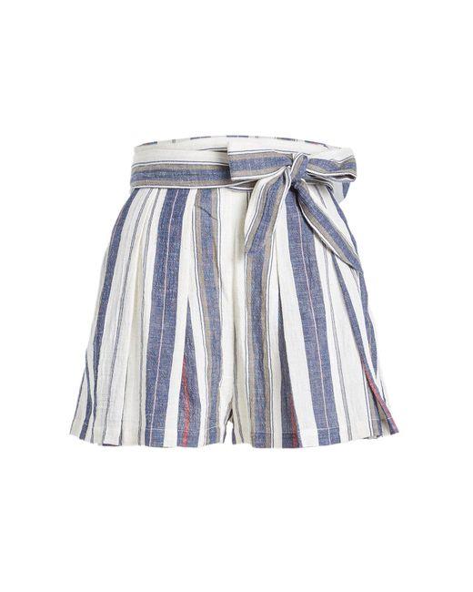 Three Graces London - Blue Kilman Cotton Shorts - Lyst