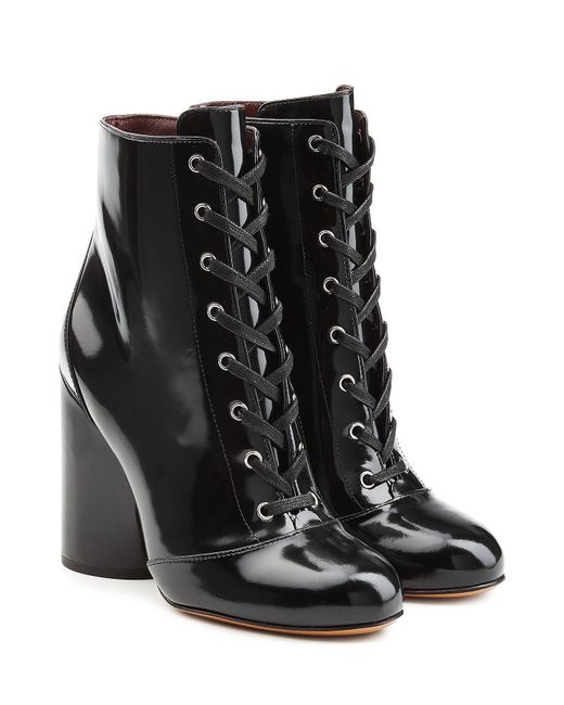 Marc Jacobs - Multicolor Patent Leather Ankle Boots - Lyst