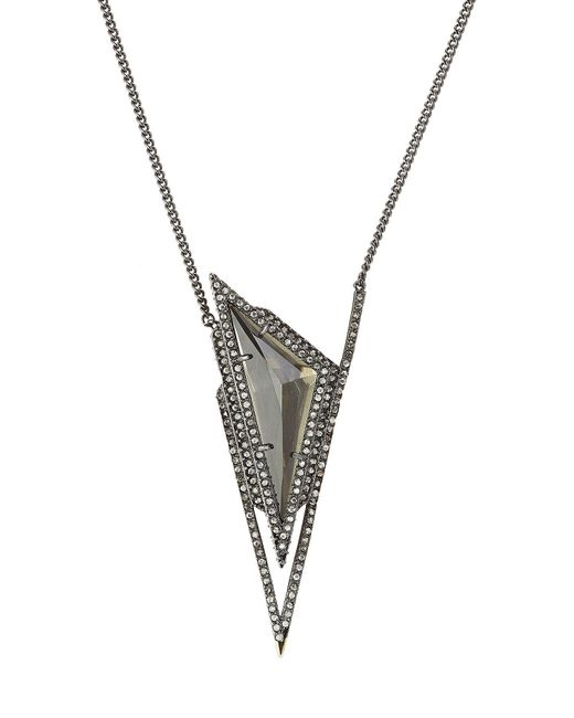 Alexis Bittar | Multicolor Pendant Necklace With Crystals | Lyst